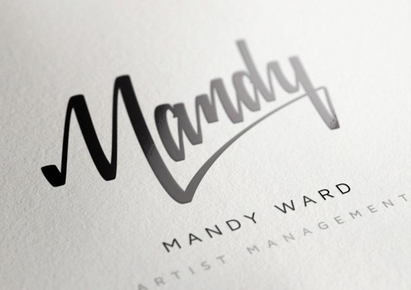 fonts creative branding brand identity logo stationery mandy ward