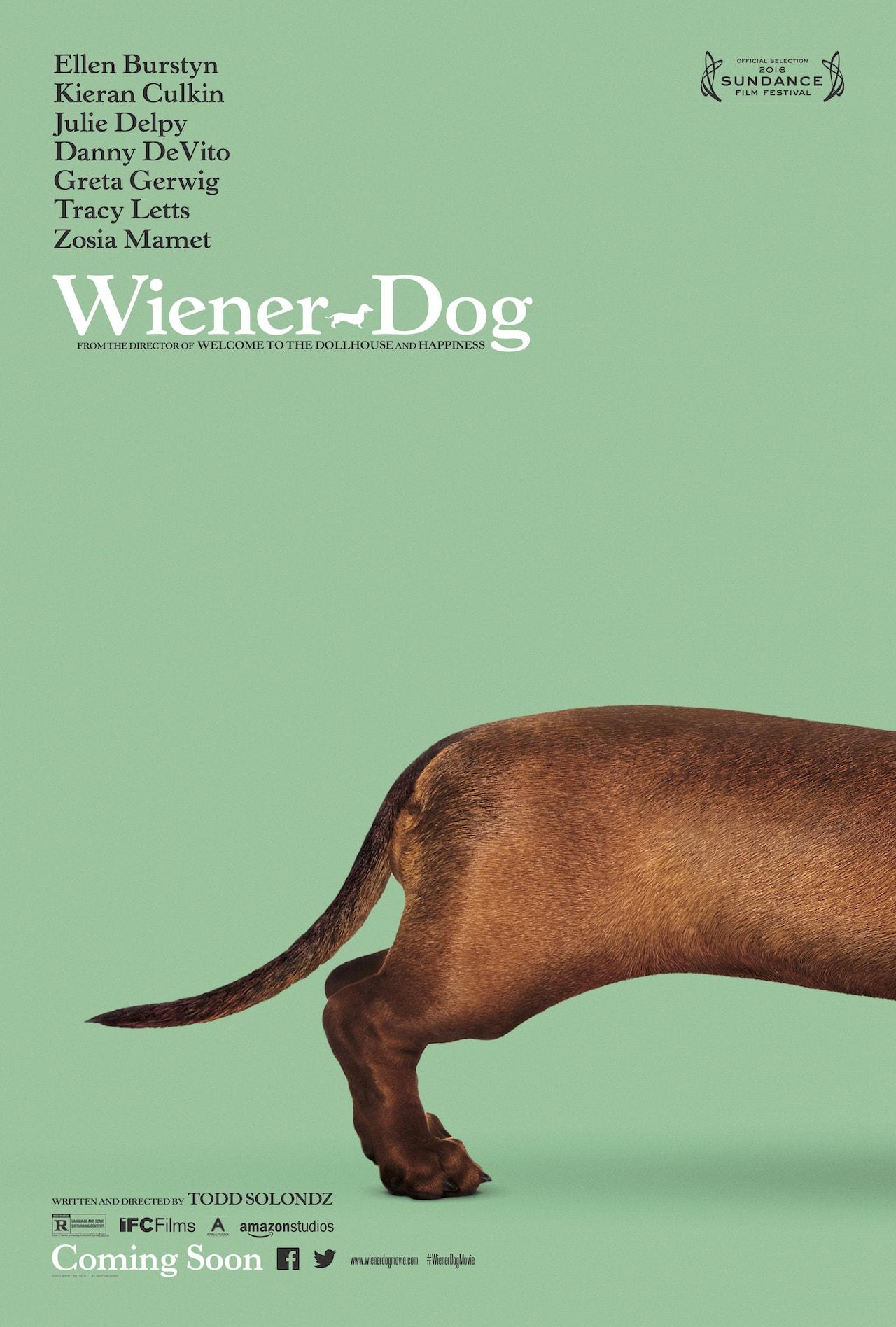 best fonts movie poster design wiener dog