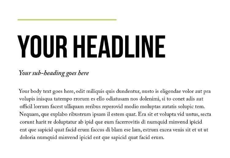 The Beginners Guide to Font Pairing