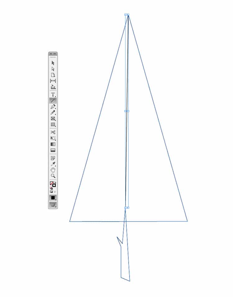 how to draw shapes illustrations in indesign line tool
