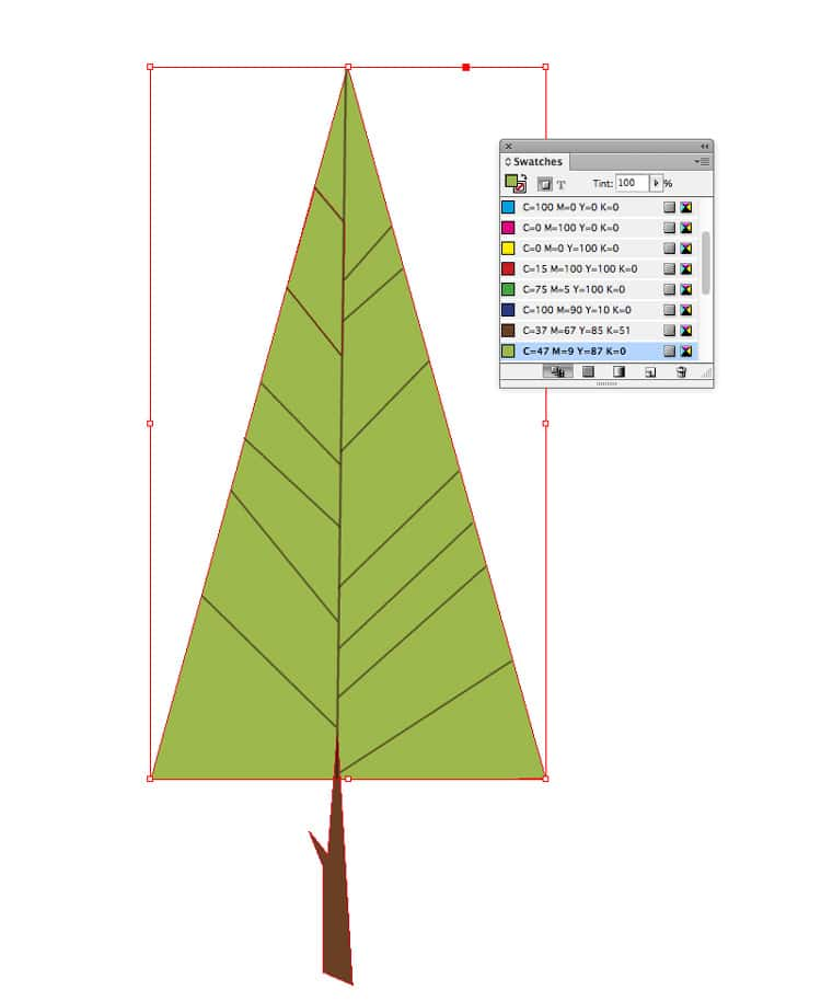 how to draw shapes illustrations in indesign swatch