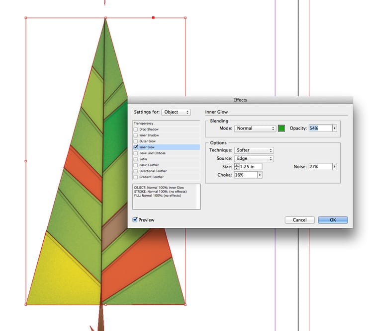 how to draw shapes illustrations in indesign drop shadow