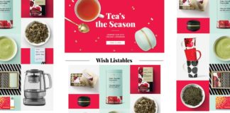 e-newletter email newsletter marketing design layout inspiration