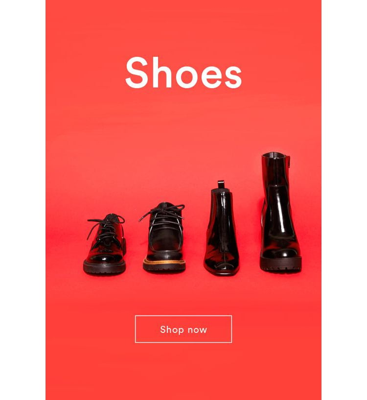 e-newletter email newsletter marketing design layout inspiration monki shoes clothing fashion simple edgy young