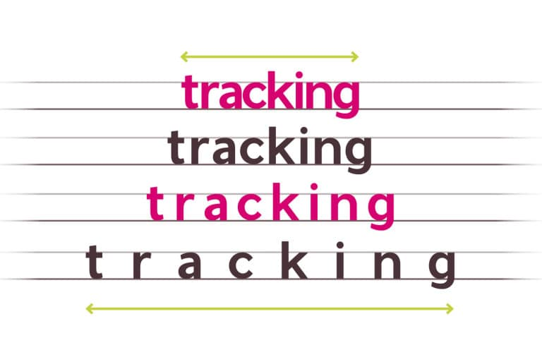 what is tracking beginners typography letter-spacing how to indesign