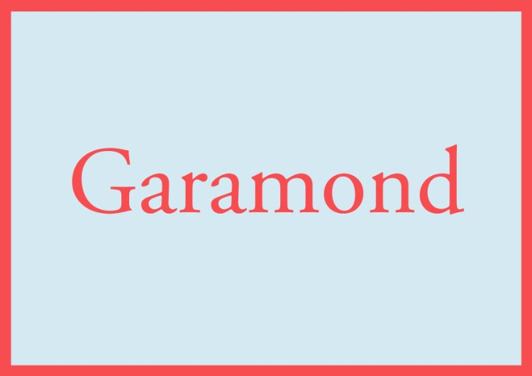essential fonts designers need capsule beginners sans serifs garamond