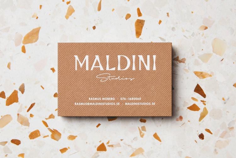 2018 graphic design print design trends texture maldini studio stationery business cards