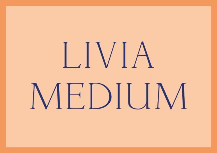 best free fonts dafont pro designers choice picks livia medium