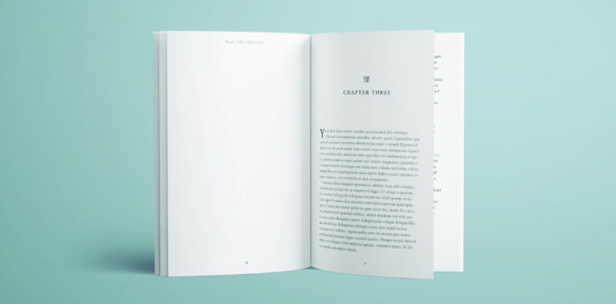 template for a book