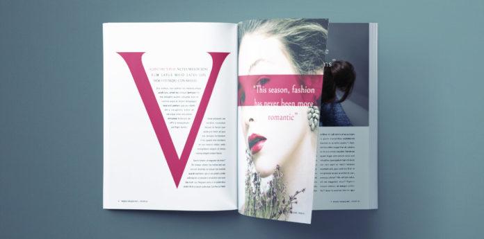 fashion magazine template - free indesign fashion magazine template