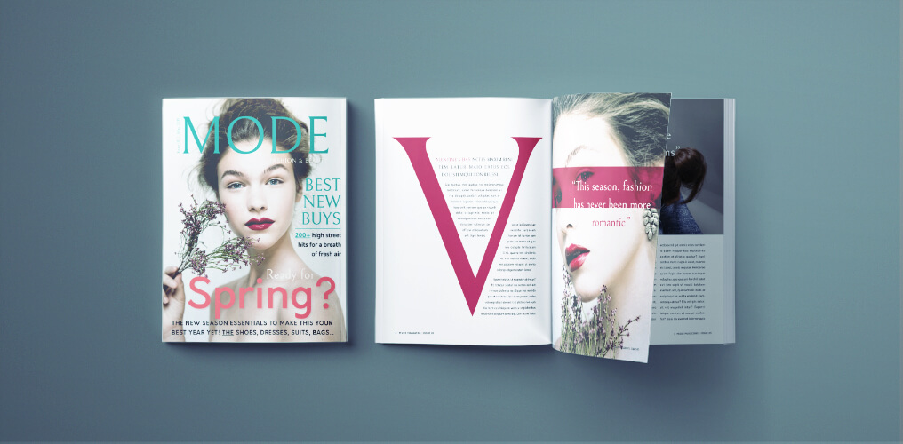 fashion magazine template - free indesign fashion magazine template
