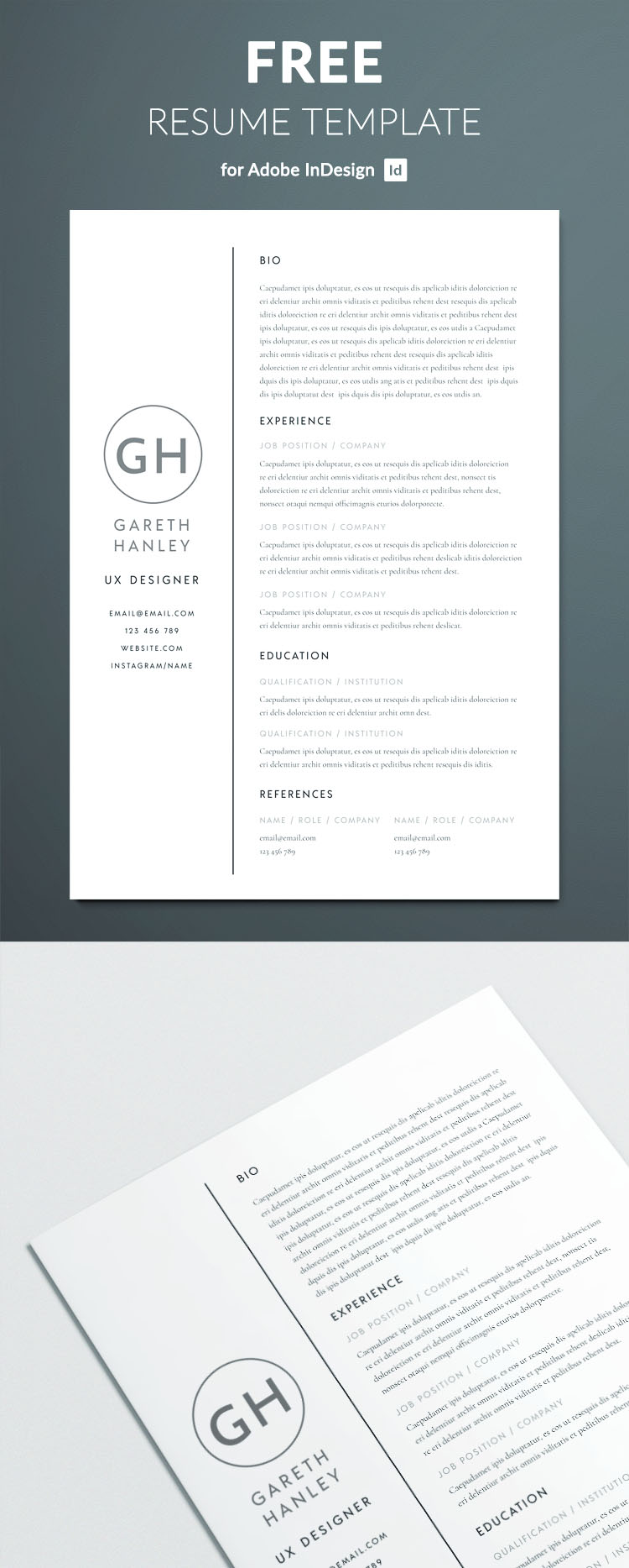 the perfect basic resume template