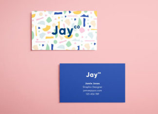 Free indesign templates 25 beautiful templates for indesign terrazzo business card template flashek Gallery