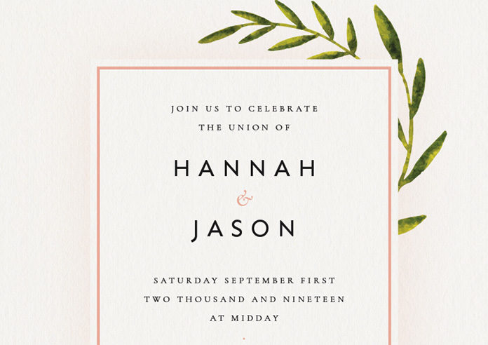 how to create a wedding invitation in indesign free template included