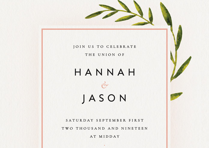 What Needs To Be Included In A Wedding Invitation: How To Create A Wedding Invitation In InDesign (Free
