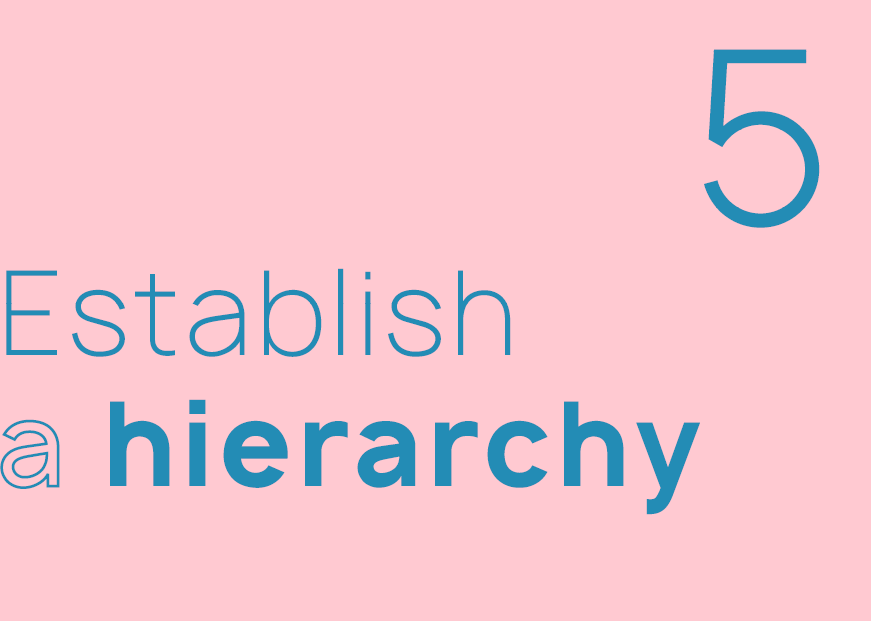 typography rules you need to know indesign hierarchy