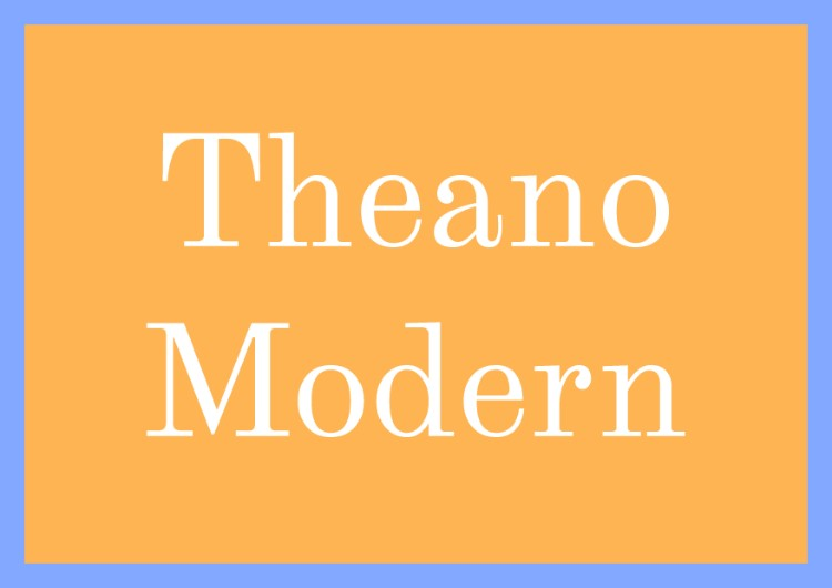 best free fonts font squirrel theano modern