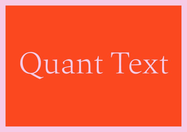 fonts.com best free fonts quant text