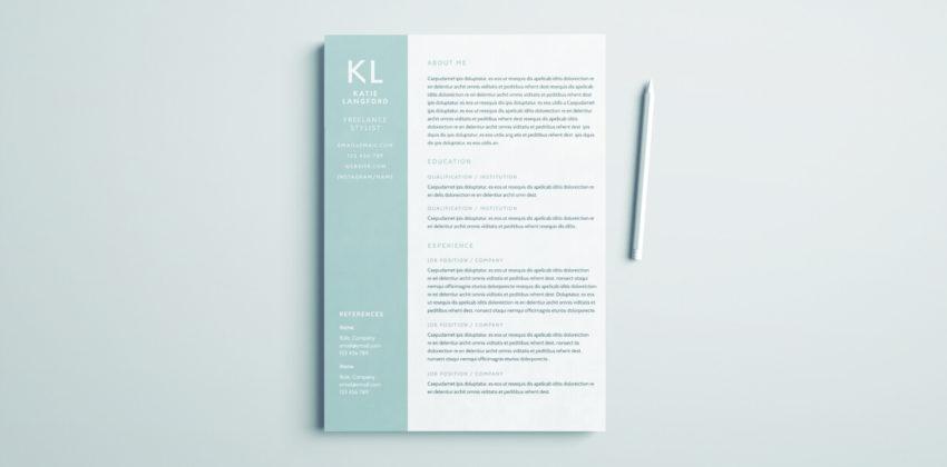 indesign tutorials for beginners resumes cv