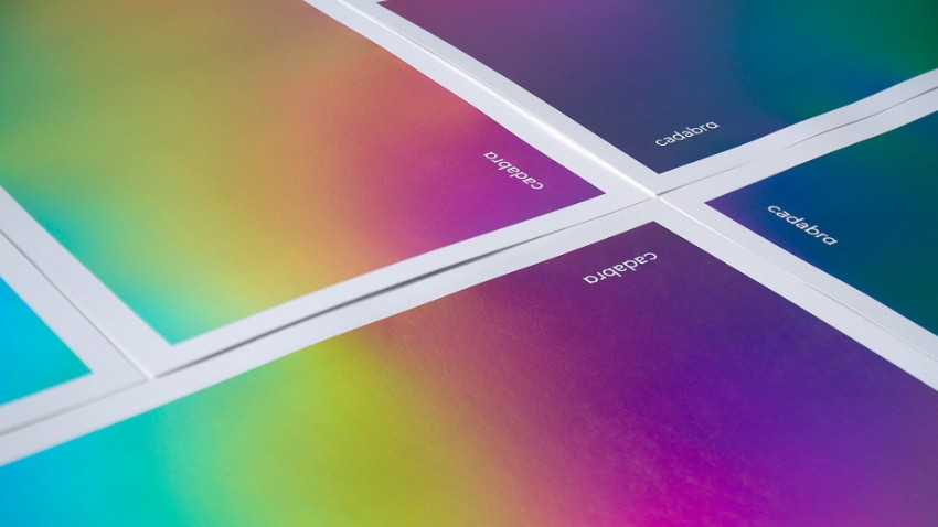 2019 graphic design trends rainbow gradients