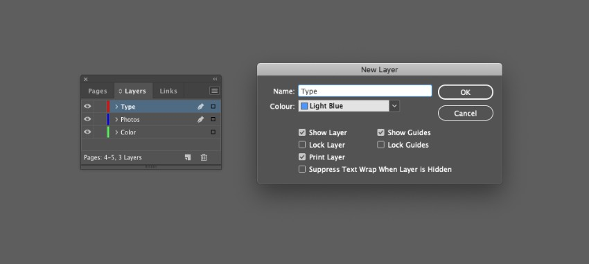 zine design indesign template new layer