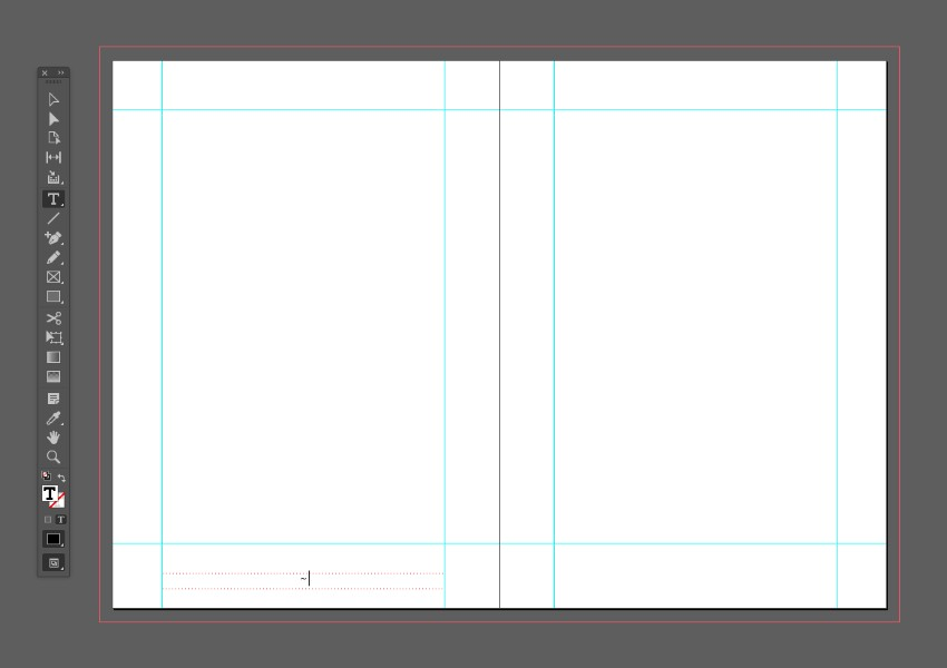 zine design indesign template master