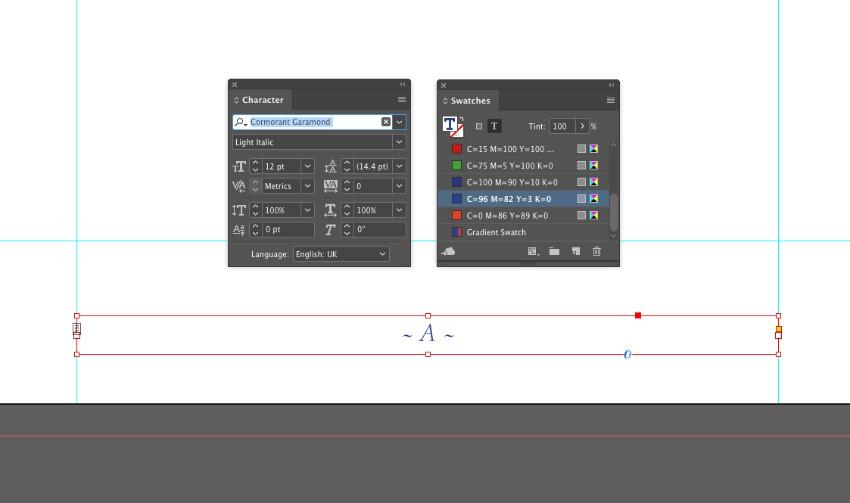 zine design indesign template page number