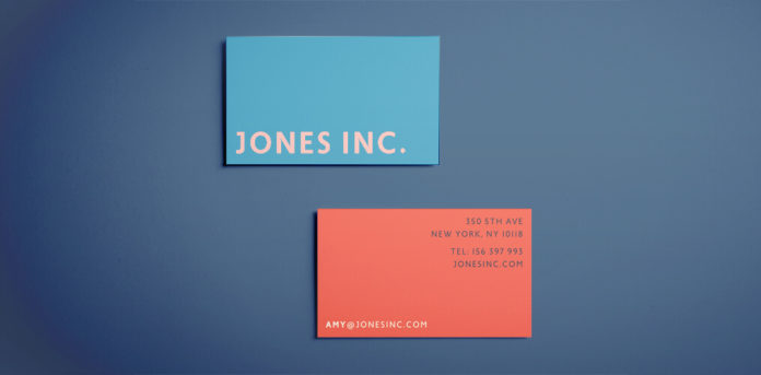 Simple Business Card Template - Modern Graphic Business Card Design for InDesign