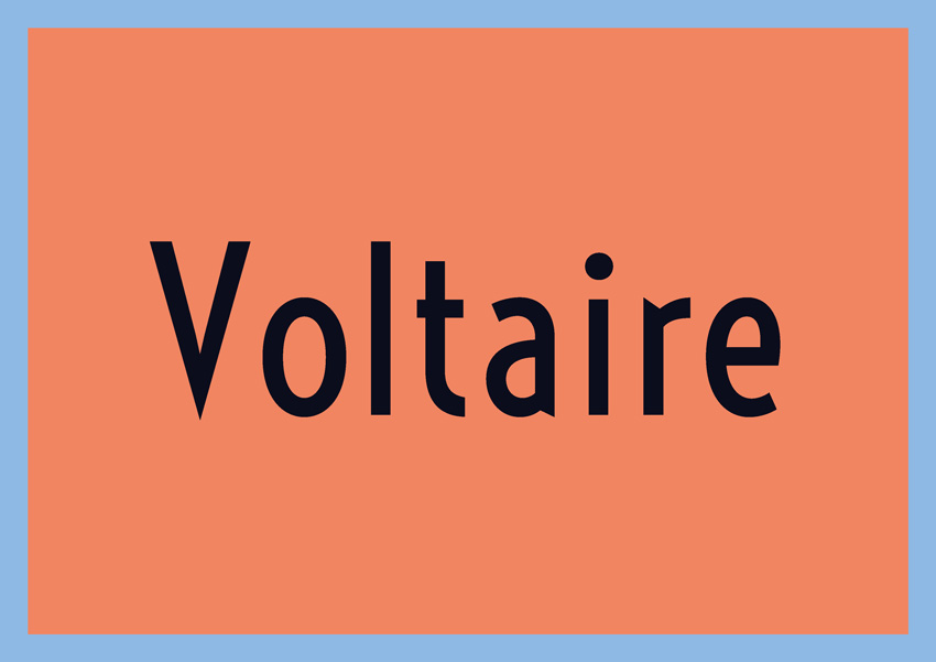 best free fonts for branding and logo design voltaire