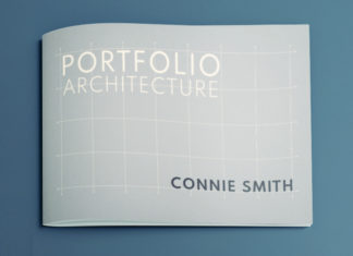 architecture portfolio free template proposal minimal clean professional