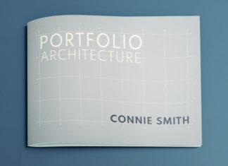 architecture portfolio free template proposal minimal clean professional