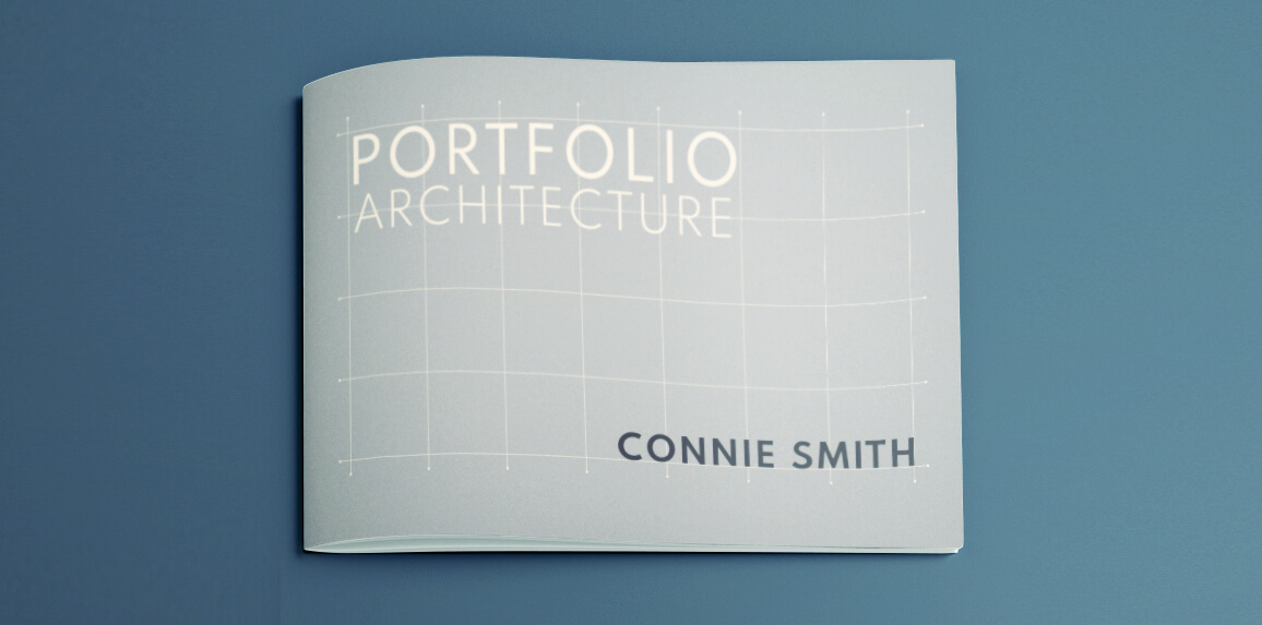 stylish architecture portfolio template for indesign