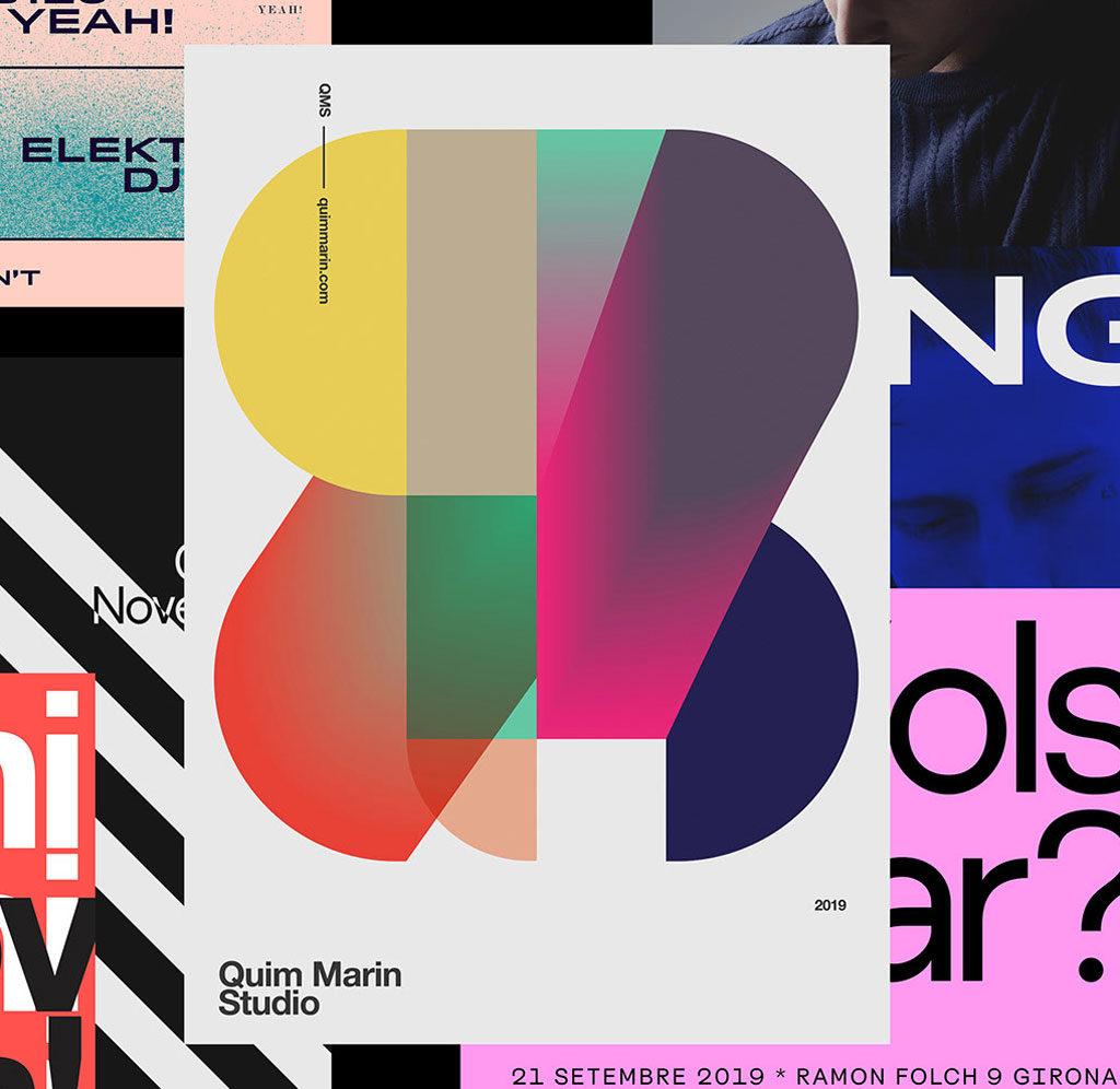 2020 creative graphic design illustration trends flat gradients