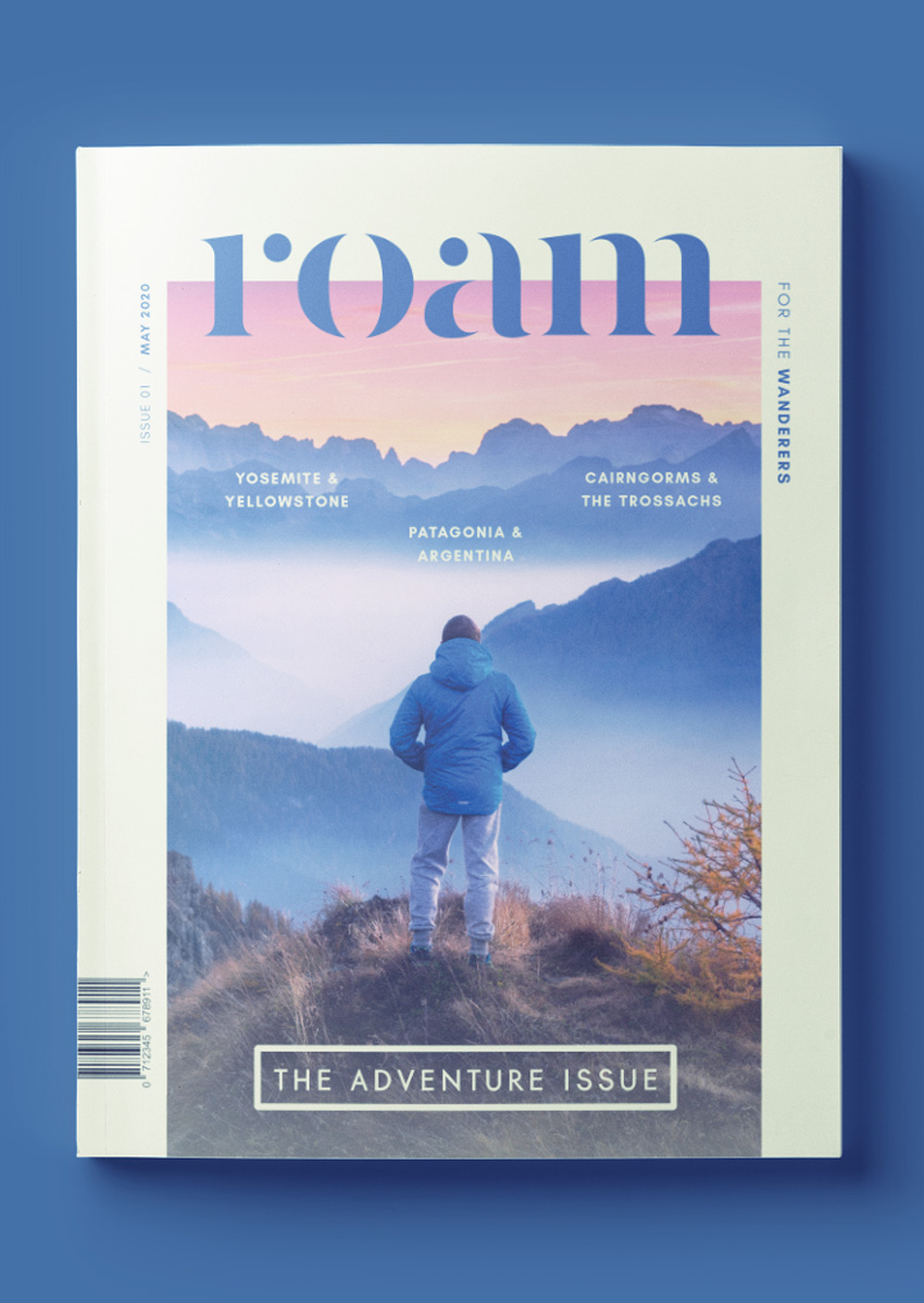 free indesign magazine template - download this professionally designed template for an indesign travel magazine cover